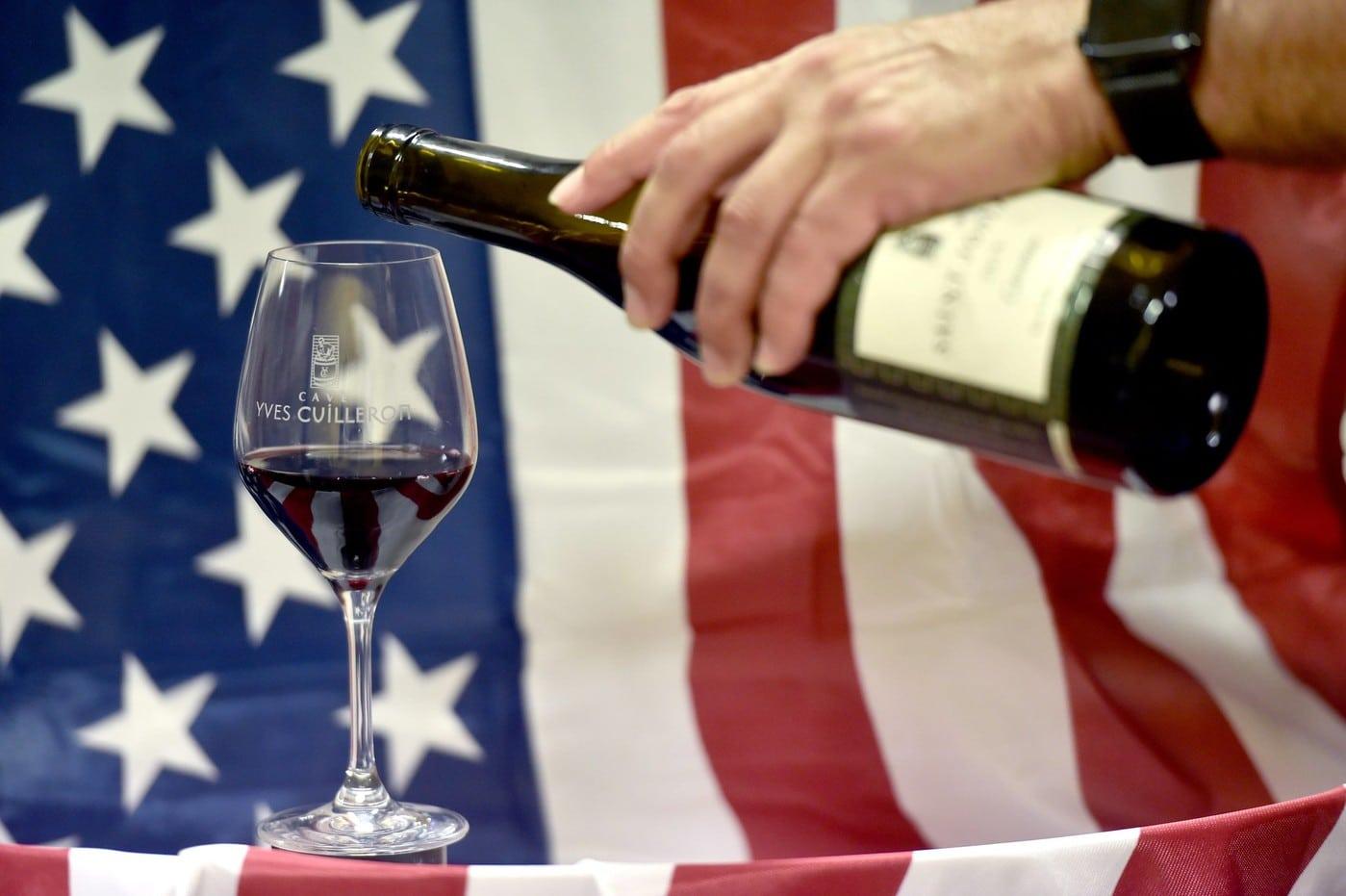 vins aux USA