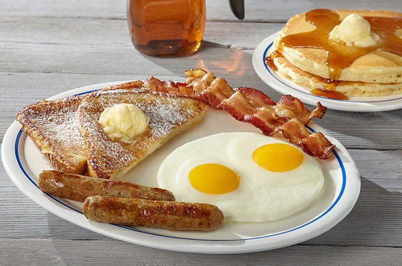 petit dejeuner USA