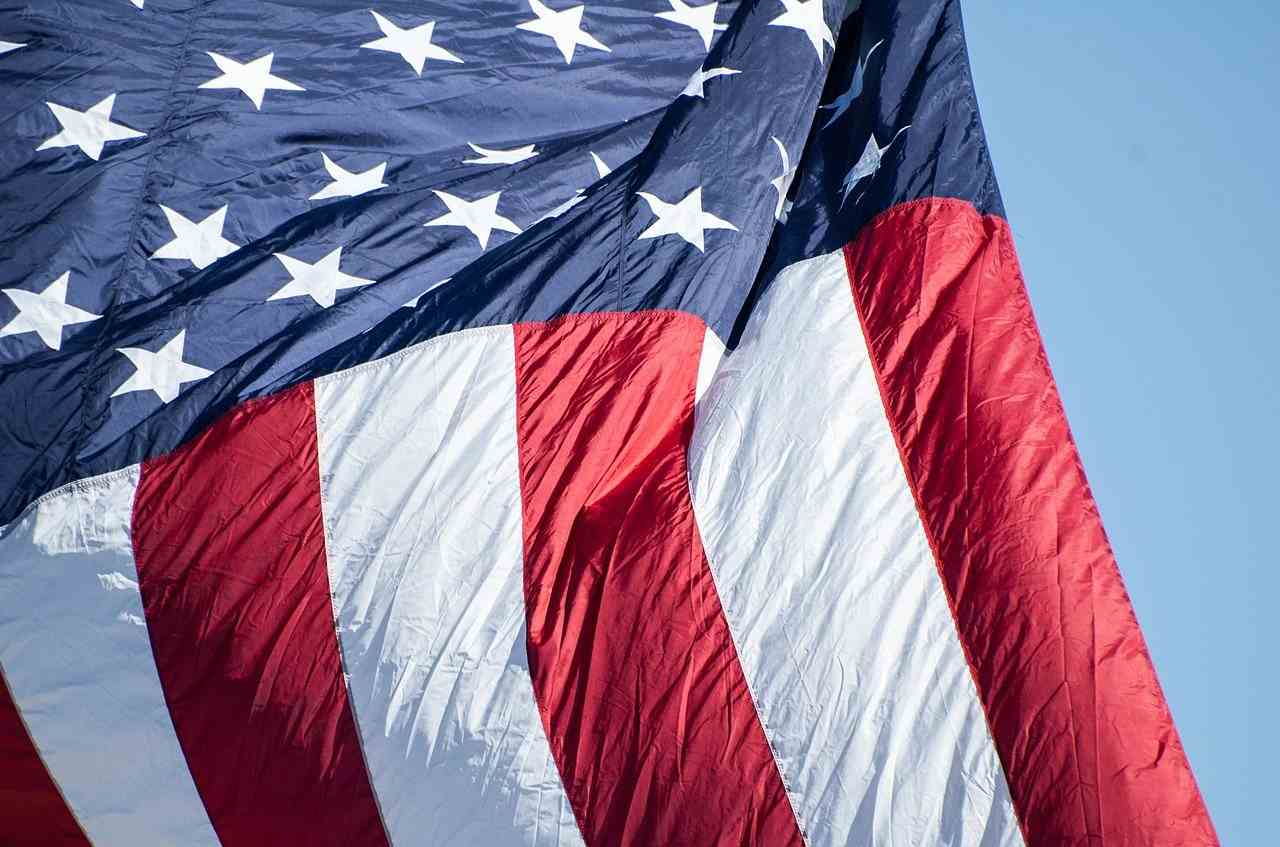 Histoire du drapeau americain